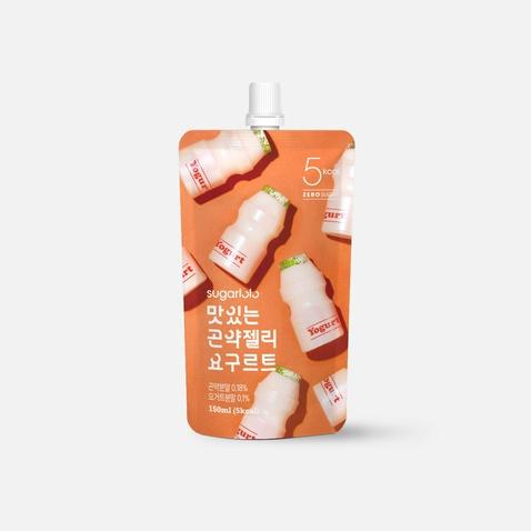 Konjac Jelly Snack 150mL, Yogurt, Sugarlolo, Low Calorie Snack