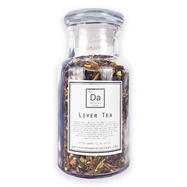 Liver Tea 50g, Daylesford Apothecary, Herbal Tea