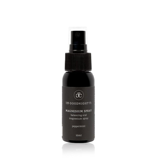Magnesium Oral Spray with Peppermint 50mL, The Goodnight Sleep Co, Tincture
