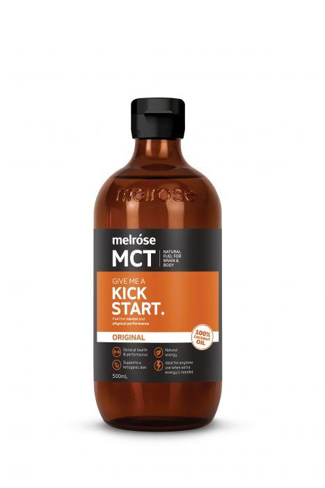 MCT Original Kick Start Oil 500ml, Melrose, Daily Health Oil