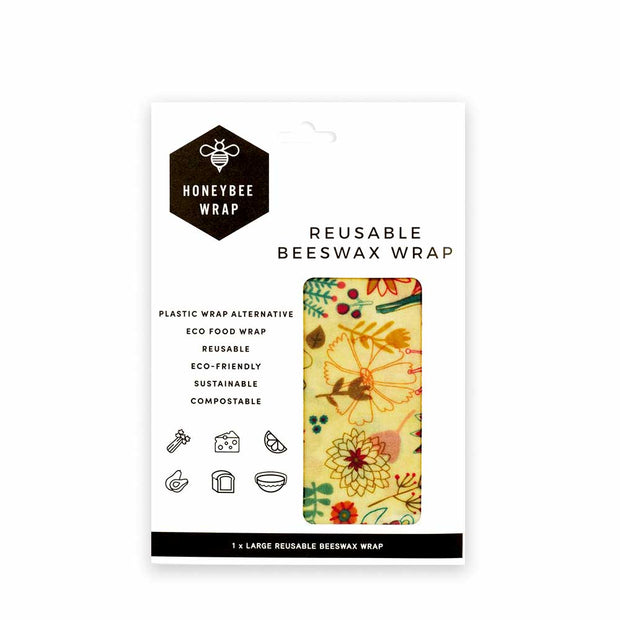 Medium Wrap - 1 Pack, Honeybee Wrap, Reusable Wraps