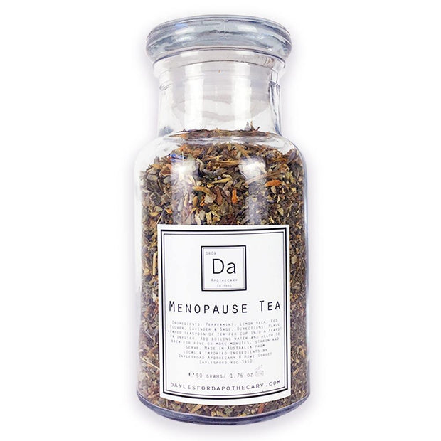 Menopause Tea 50g, Daylesford Apothecary, Herbal Tea