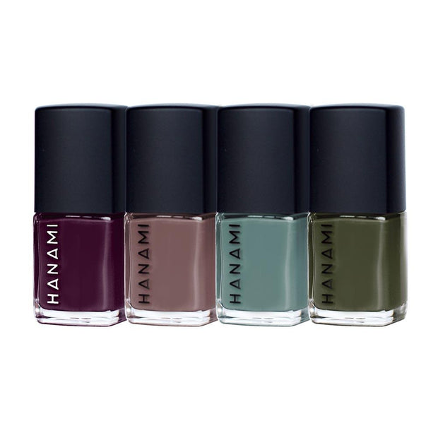 Nail Polish Gift Pack - SOLSTICE (4 x 9ml), Hanami Cosmetics, Nail Polish