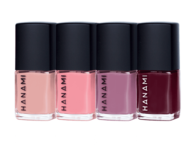 Nail Polish Gift Pack - TOOTSIE (4 x 9ml), Hanami Cosmetics, Nail Polish