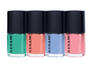 Nail Polish Gift Pack - VOYAGE (4 x 9ml), Hanami Cosmetics, Nail Polish