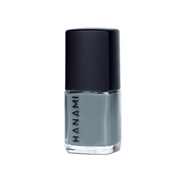 Nail Polish - Pale Grey Eyes 15mL, Hanami Cosmetics, Nail Polish