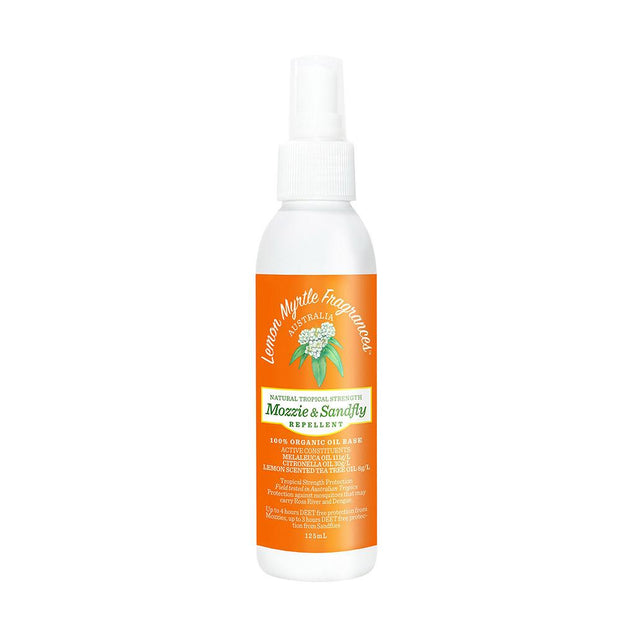 Natural Mozzie and Sandfly Repellent, Lemon Myrtle Fragrances, Insect Repellent
