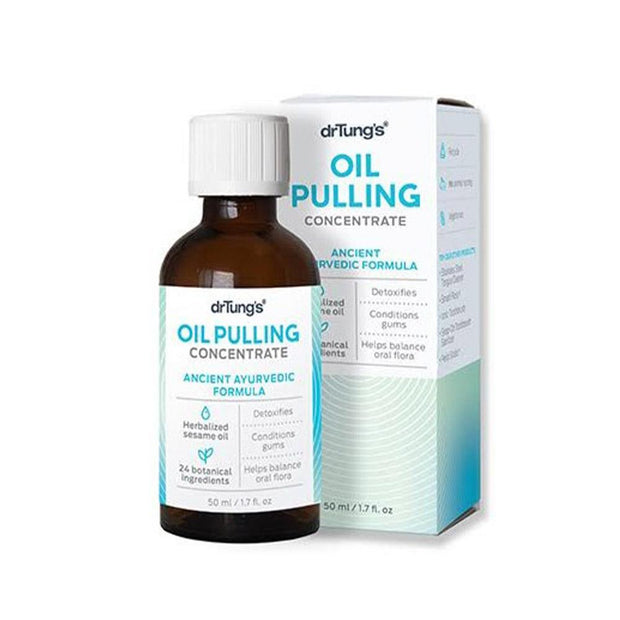 Oil Pulling Concentrate, Dr Tung's, Oil Pulling