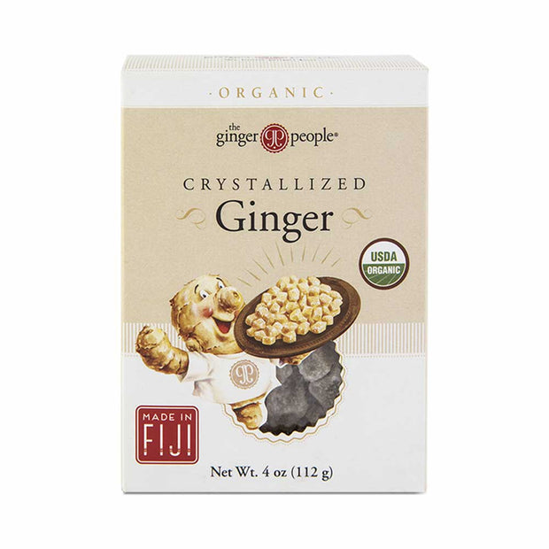 Organic Crystallised Ginger 112g, The Ginger People, Candy
