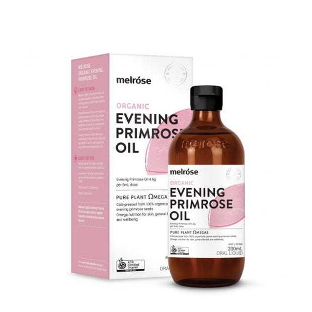 Organic Evening Primrose Oil 200ml, Melrose, Daily Health Oil