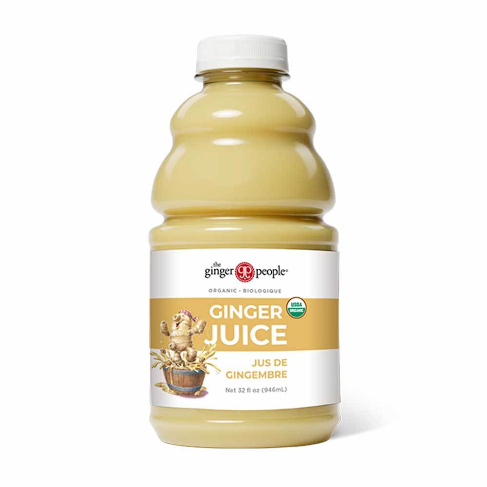 Organic Ginger Juice 946 mL, The Ginger People, Juice