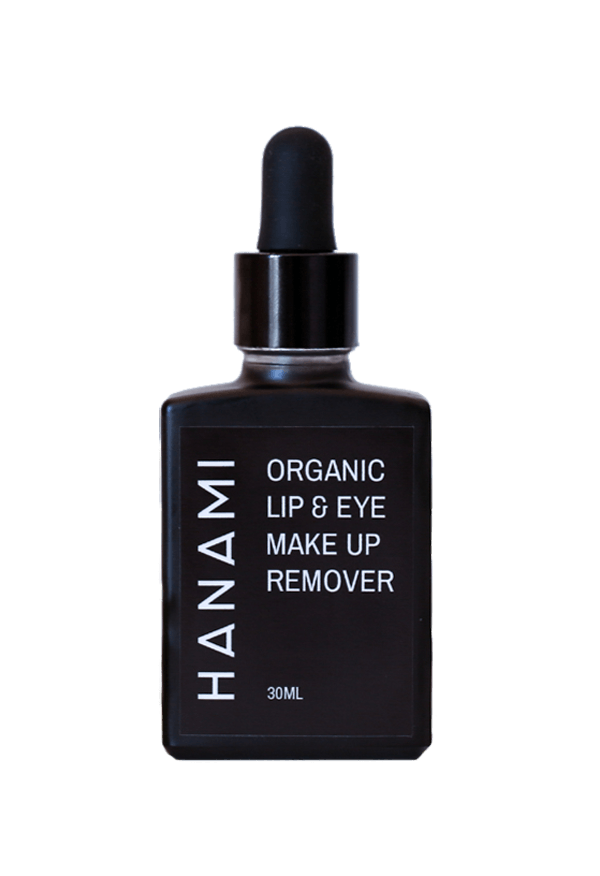 Organic Lip & Eye Makeup Remover 30mL, Hanami Cosmetics, Makeup Remover