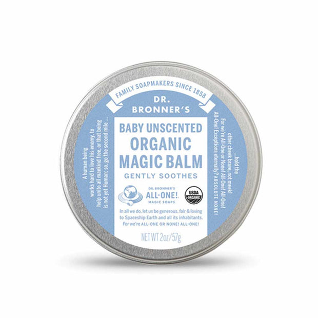 Organic Magic Balm - Baby Unscented - 57g, Dr Bronner's, Balm