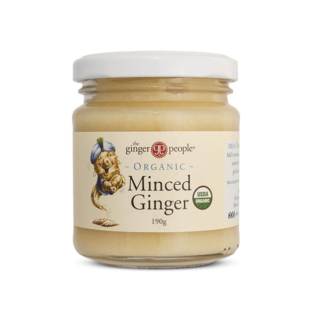 Organic Minced Ginger 190g, The Ginger People, Minced Ginger