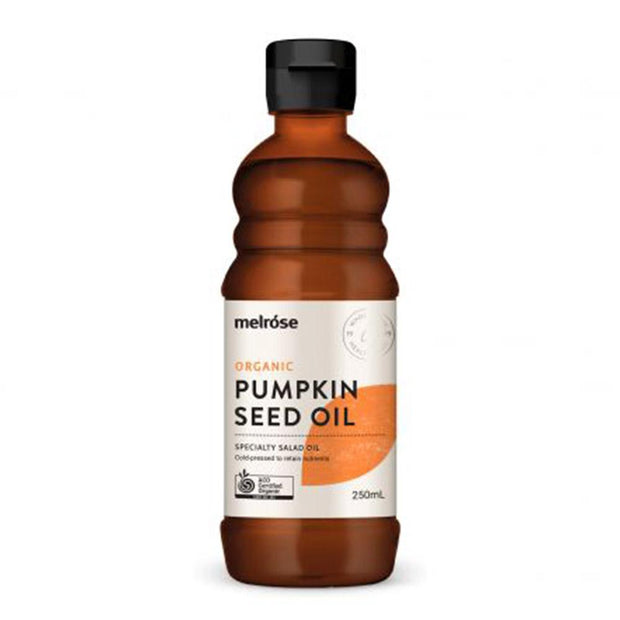 Organic Pumpkin Seed Oil 250ml, Melrose, Kitchen Oil