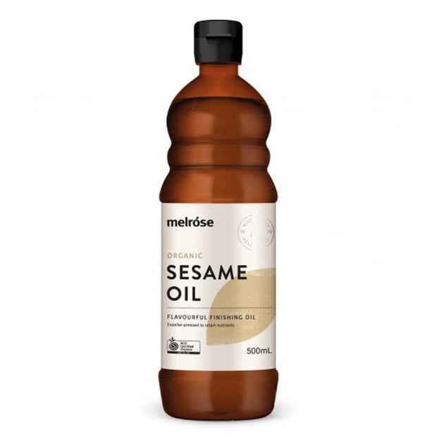 Organic Sesame Oil 500ml, Melrose, Kitchen Oil