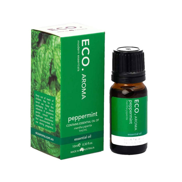 Peppermint Pure Essential Oil 10ml, Eco Modern Essentials, Essential Oils
