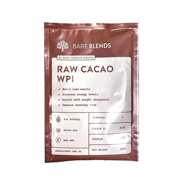 Raw Cacao WPI 30g, Bare Blends, Protein