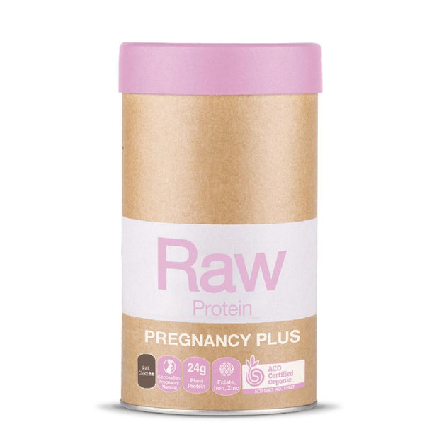 Raw Plant Protein Pregnancy Plus 500g - Chocolate, Amazonia, Pregnancy Protein