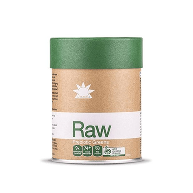 Raw Prebiotic Greens 120g/300g, Amazonia,