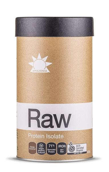 RAW Protein Isolate Cacao & Coconut 500g/1kg, Amazonia, Protein