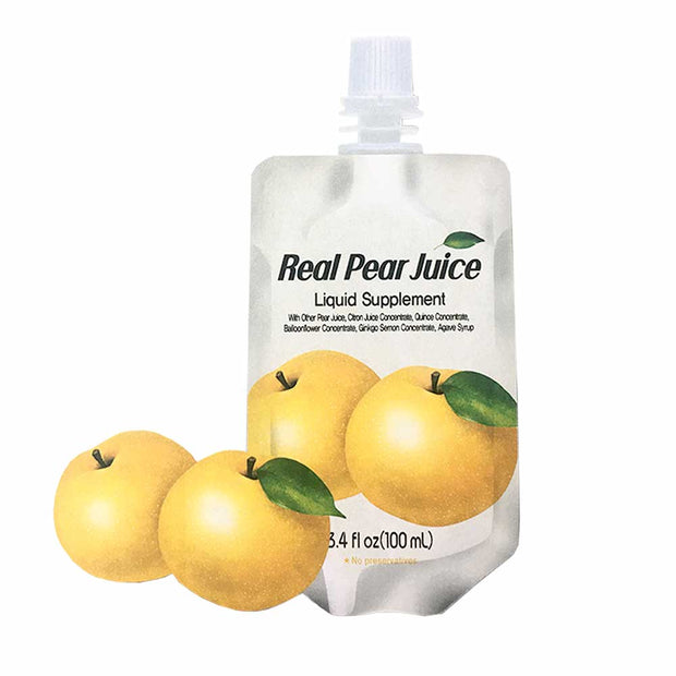 Real Pear Extract 1pk | 5pk | 10pk | 30pk, Chunho Food, Drinks