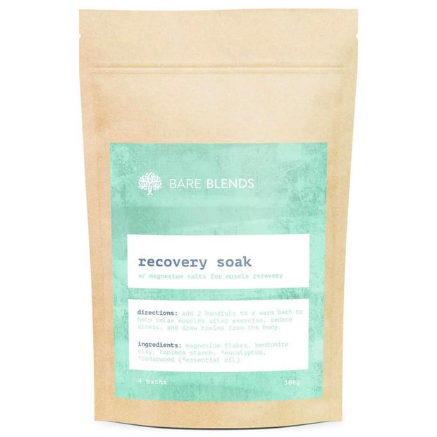 Recovery Bath Soak 300g, Bare Blends, Bath Soak