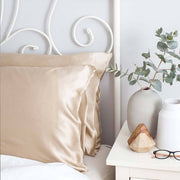 Silk Pillowcase Twin Set - Shimmering Nude, The Goodnight Sleep Co, Pillowcase