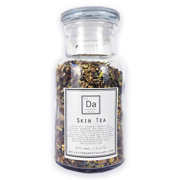 Skin Tea 50g, Daylesford Apothecary, Herbal Tea