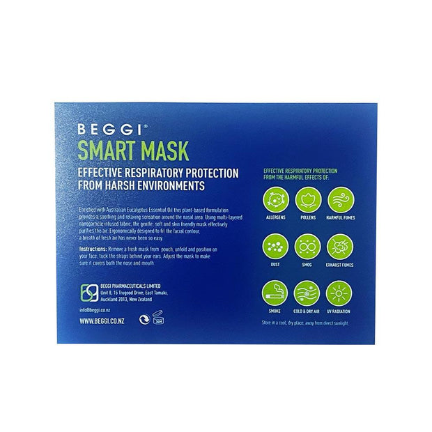Smart Mask - Effective Respiratory Protection, Beggi, Face Mask