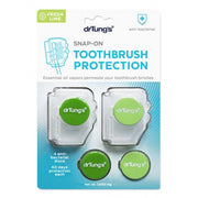 Snap-On Toothbrush Protection - 2 Pack, Dr Tung's, Toothbrush Protector