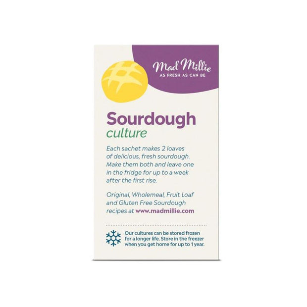 Sourdough Culture - 3x Sachets, Mad Millie, Culture Starter