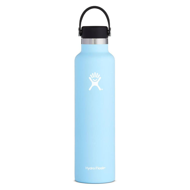 Standard Mouth Flex Cap Double Insulated 709mL - Frost, Hydro Flask, Water Bottles