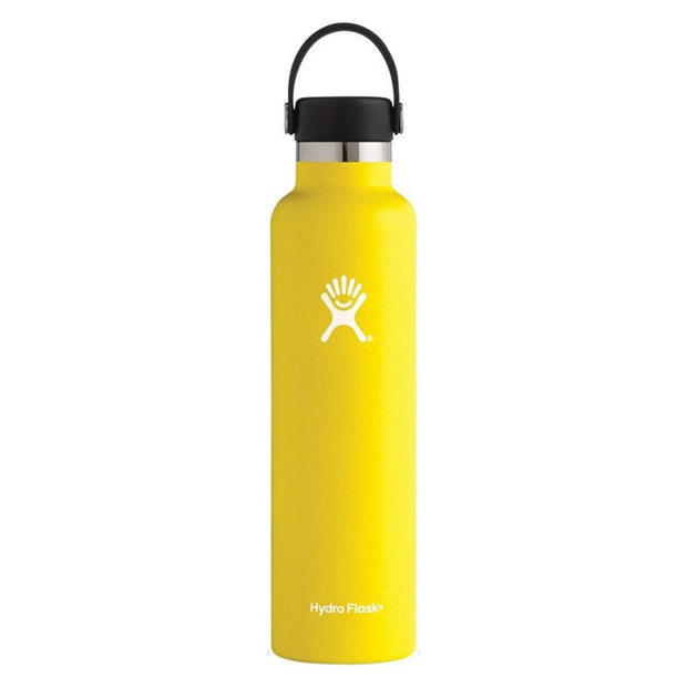 Standard Mouth Flex Cap Double Insulated 709mL - Lemon, Hydro Flask, Water Bottles