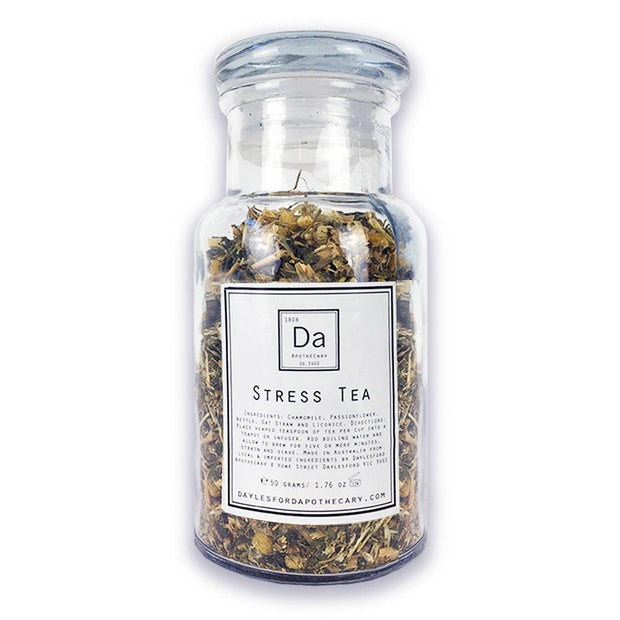 Stress Tea 50g, Daylesford Apothecary, Herbal Tea