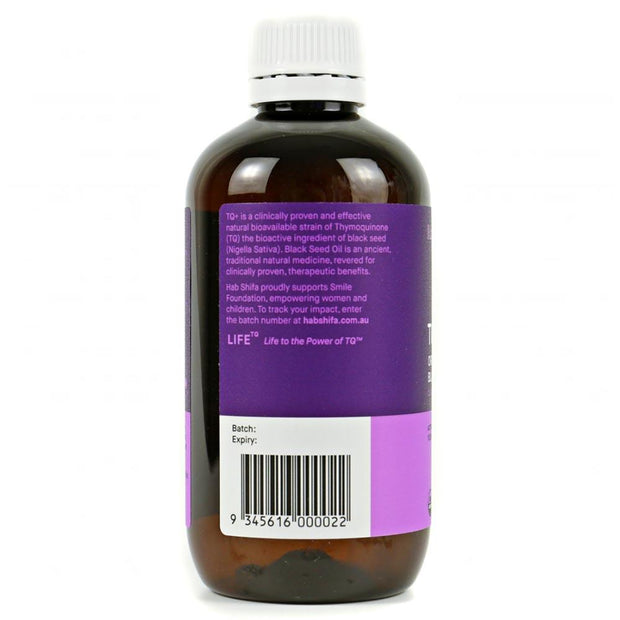TQ+ Organic Black Seed Oil 250 mL, Hab Shifa, Healthy Oils