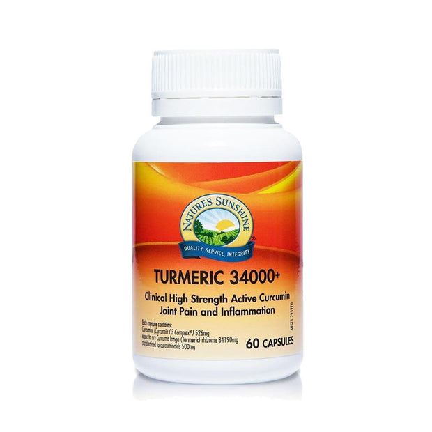 Turmeric 34000+ | Joint Pain & Inflammation Joint Health Nature's Sunshine