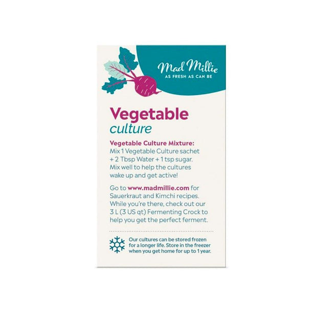 Vegetable Culture - 5x Sachets Culture Starter Mad Millie