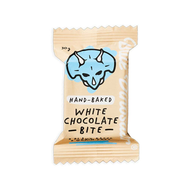 White Chocolate Bite, Blue Dinosaur, Bars