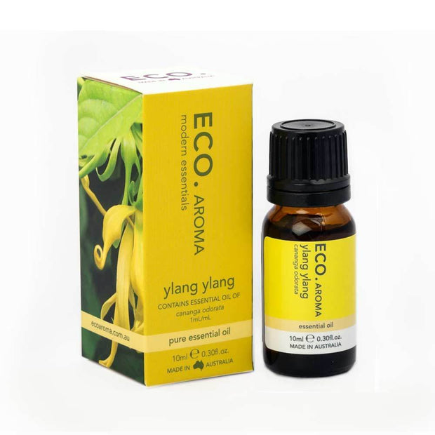 Ylang Ylang Pure Essential Oil 10ml, Eco Modern Essentials, Essential Oils