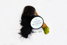 Load image into Gallery viewer, Dark & Awake activated charcoal mask