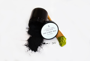 Dark & Awake activated charcoal mask