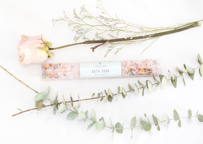 Floral Haven Bath Soak ( with botanicals )