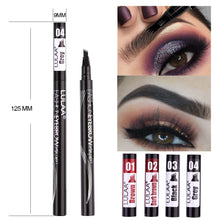 Load image into Gallery viewer, Microblading Waterproof Eyebrow Fork Tip Pen