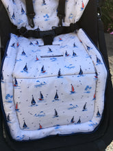 Load image into Gallery viewer, Custom set- bugaboo chameleon (all Gen) - Percy and Paige tiny traveller footmuff pram blanket best footmuffs universal footmuff australian made footmuffs warm and practical