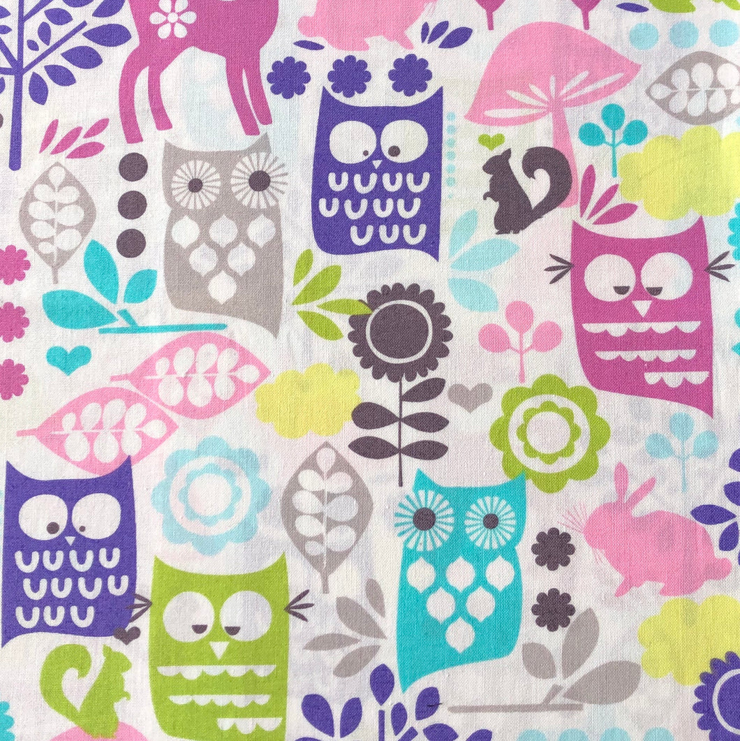 Custom liner- Quirky owls - Percy and Paige