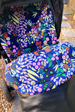 Load image into Gallery viewer, Universal liner- Funky flowers - Percy and Paige tiny traveller footmuff pram blanket best footmuffs universal footmuff australian made footmuffs warm and practical