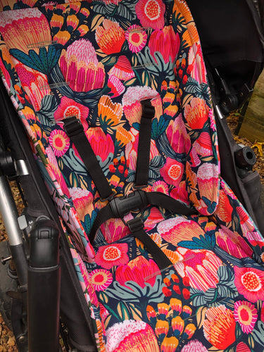 Anti slip angel liner- custom made for your model of pram
