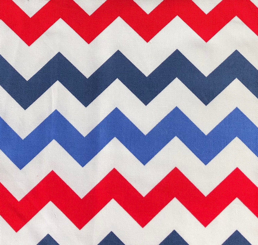 Copy of Custom liner made for your model of pram-Red and navy chevron