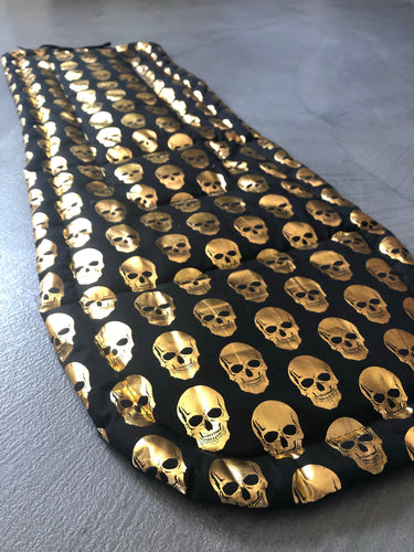 Custom liner made for your model of pram- Metallic skull